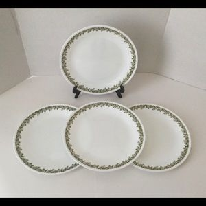 Corelle Spring Blossom dinner  plates set of 4